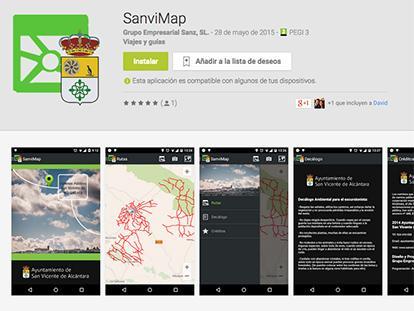 SanviMap
